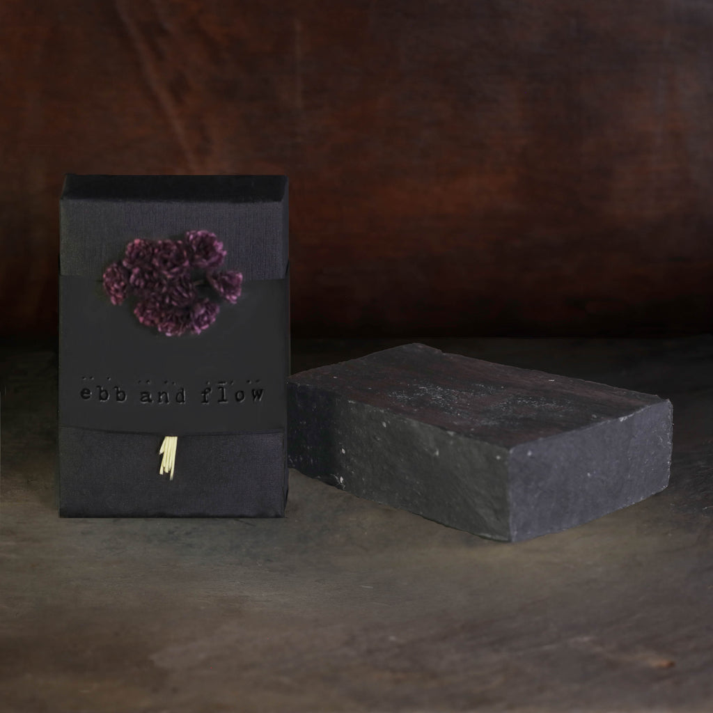 VIOLET NOIR BAR SOAP (VEGAN)
