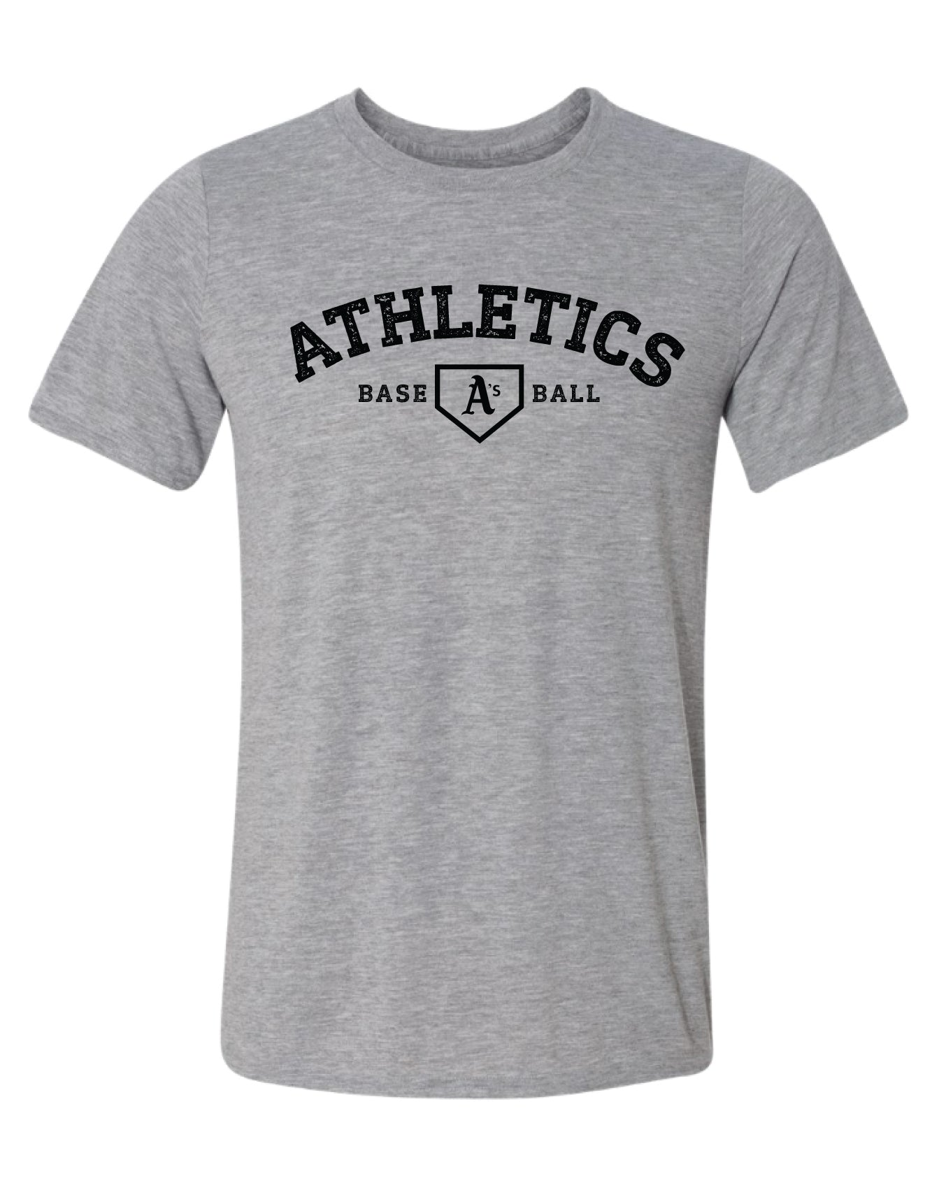 A's Baseball Distressed Logo Dri-fit T-Shirt