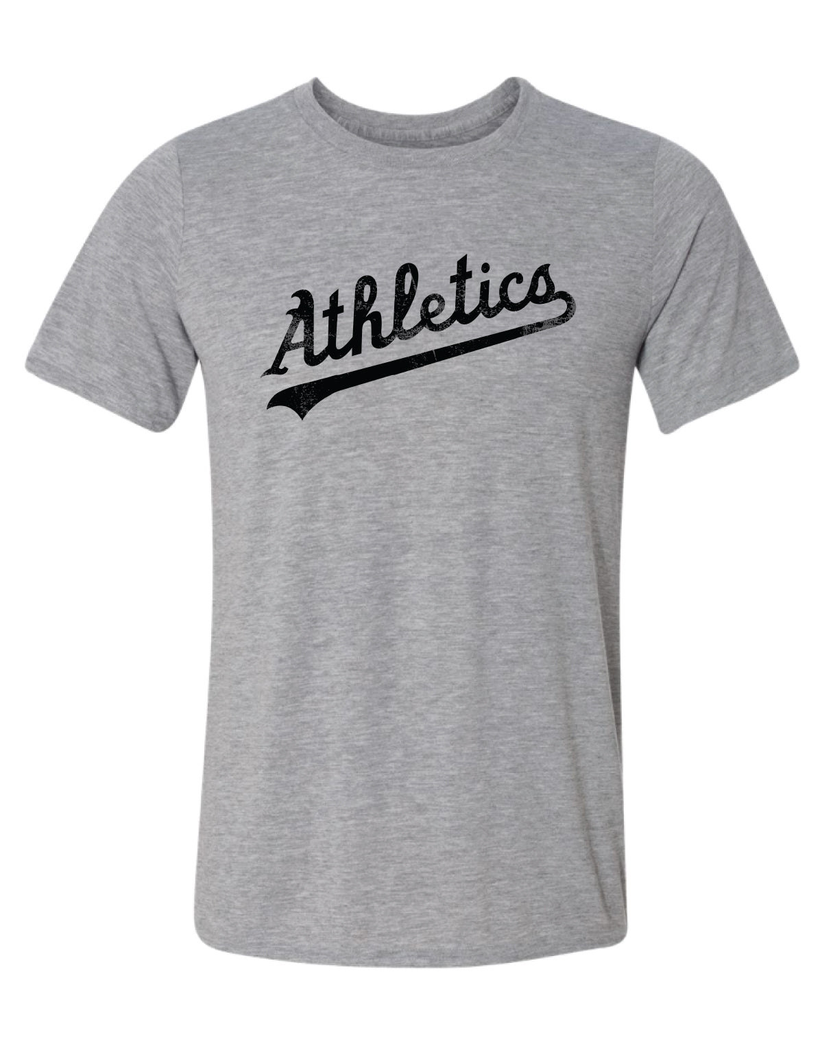 A's Athletics Distressed Logo Dri-fit T-Shirt