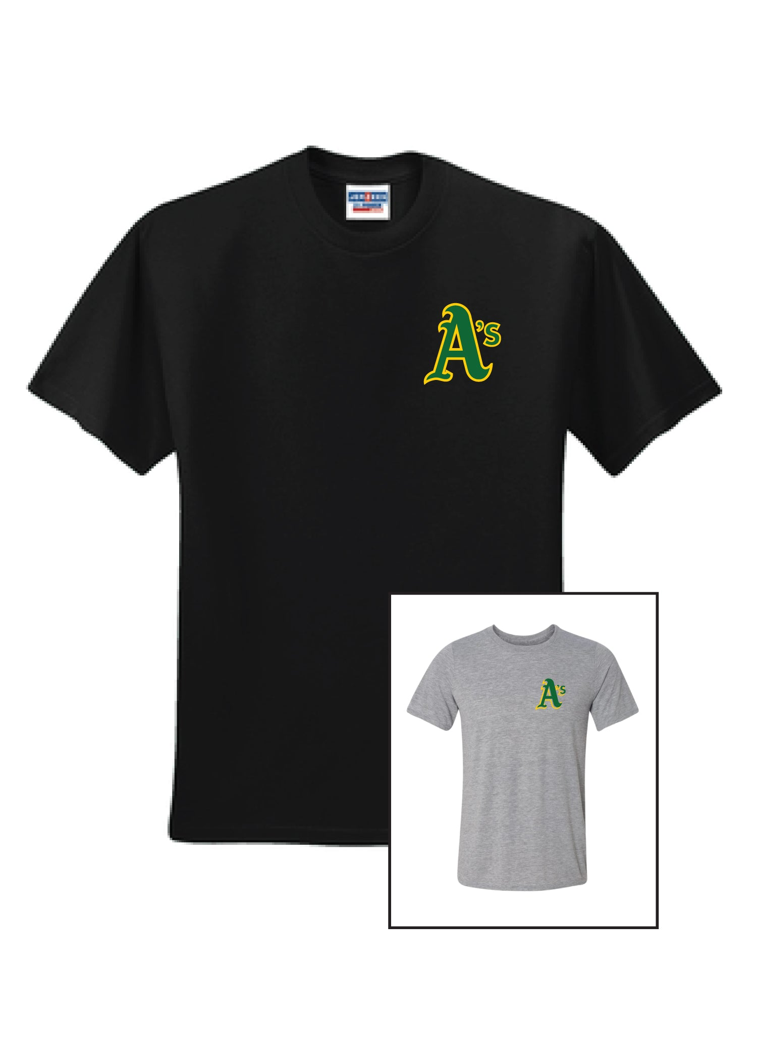 A's Logo Dri-fit T-Shirt Adult Unisex