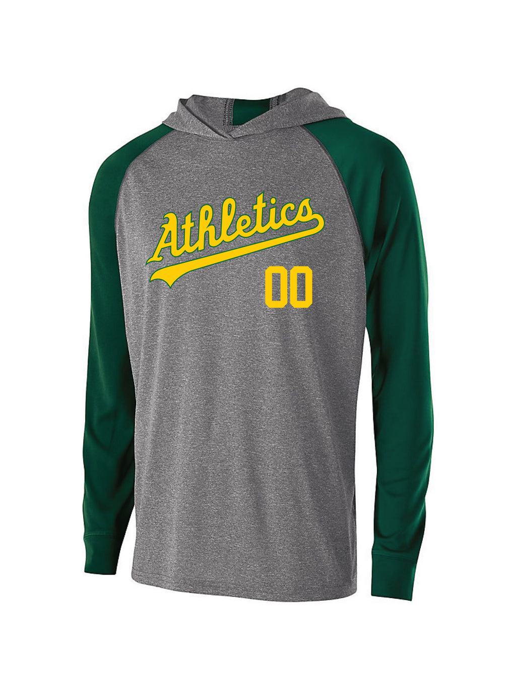 A's Light Weight Holloway Performance Hoodie