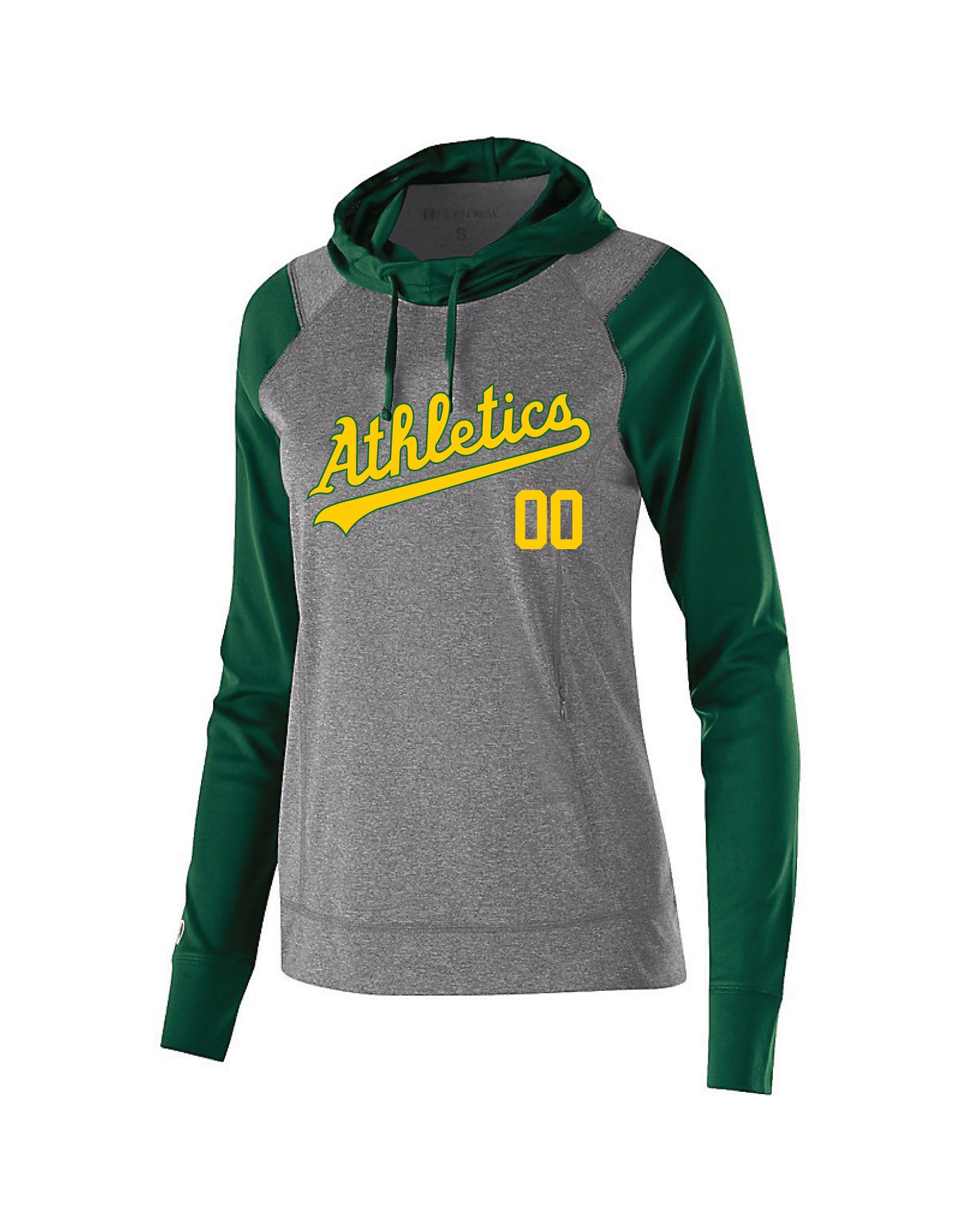 A's Light Weight Holloway Women's Performance Hoodie