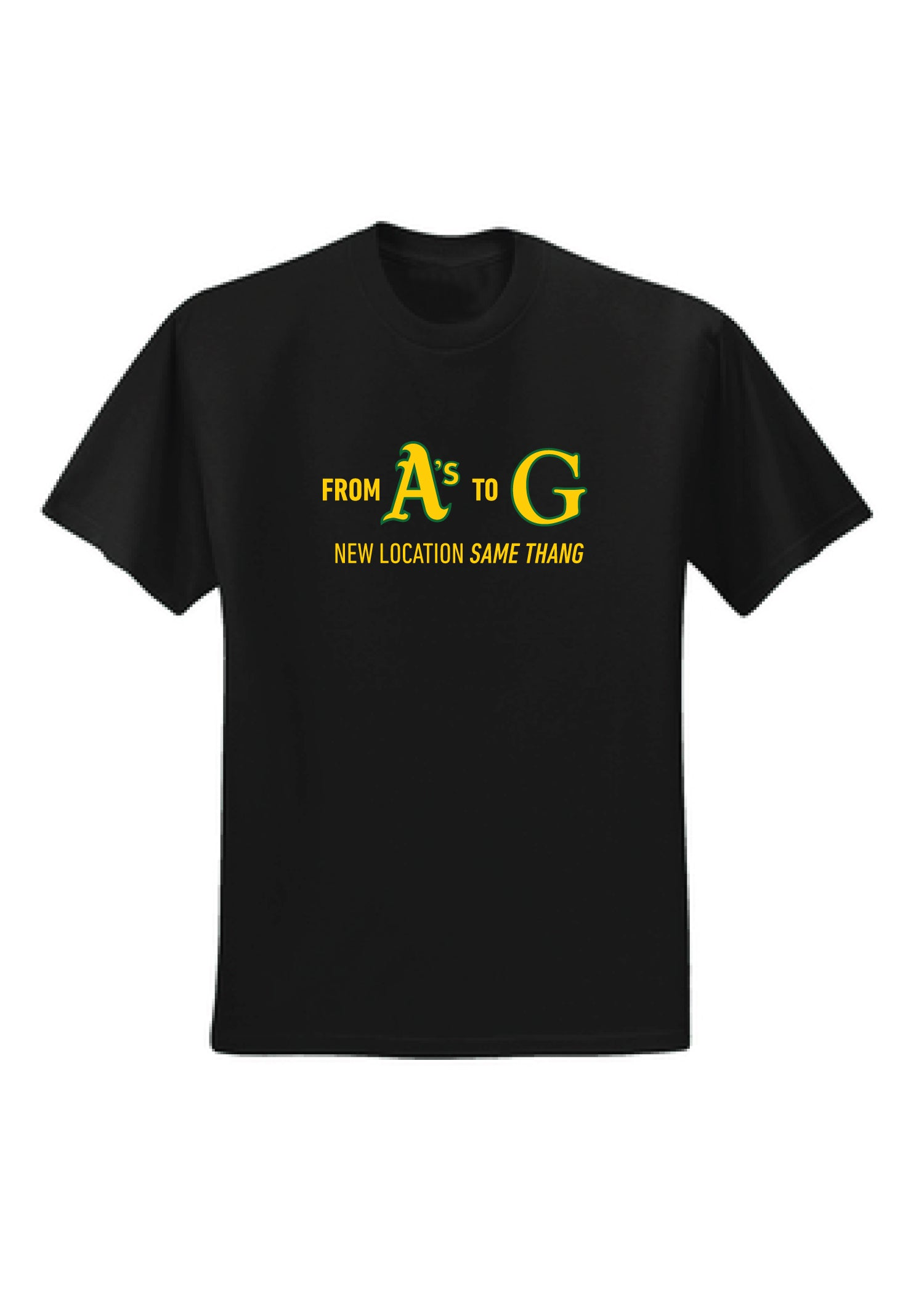 A's G-Team Dri-fit T-Shirt Adult Unisex