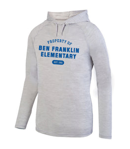 BFES Wicking Lightweight Hoodie - Adult Unisex and Women's Cut