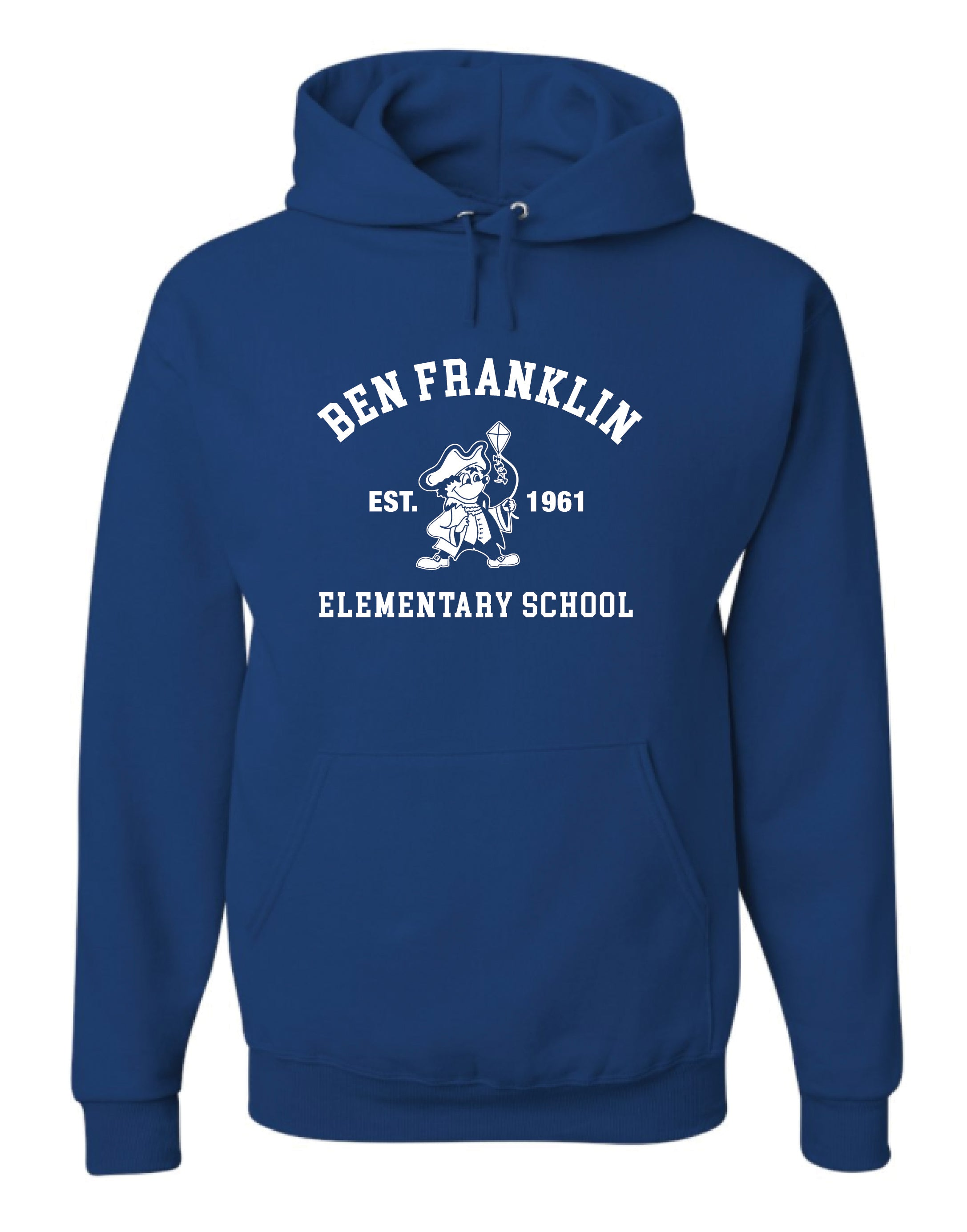 BFES Blue Hoodie- Adult Unisex and Youth