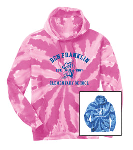 BFES Tie-Dye Hoodie- Adult Unisex and Youth