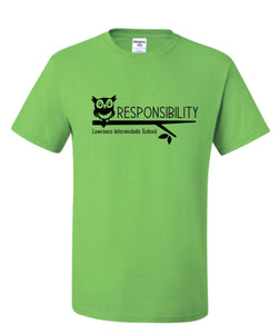 LIS Responsibility T-Shirt - Adult and Youth