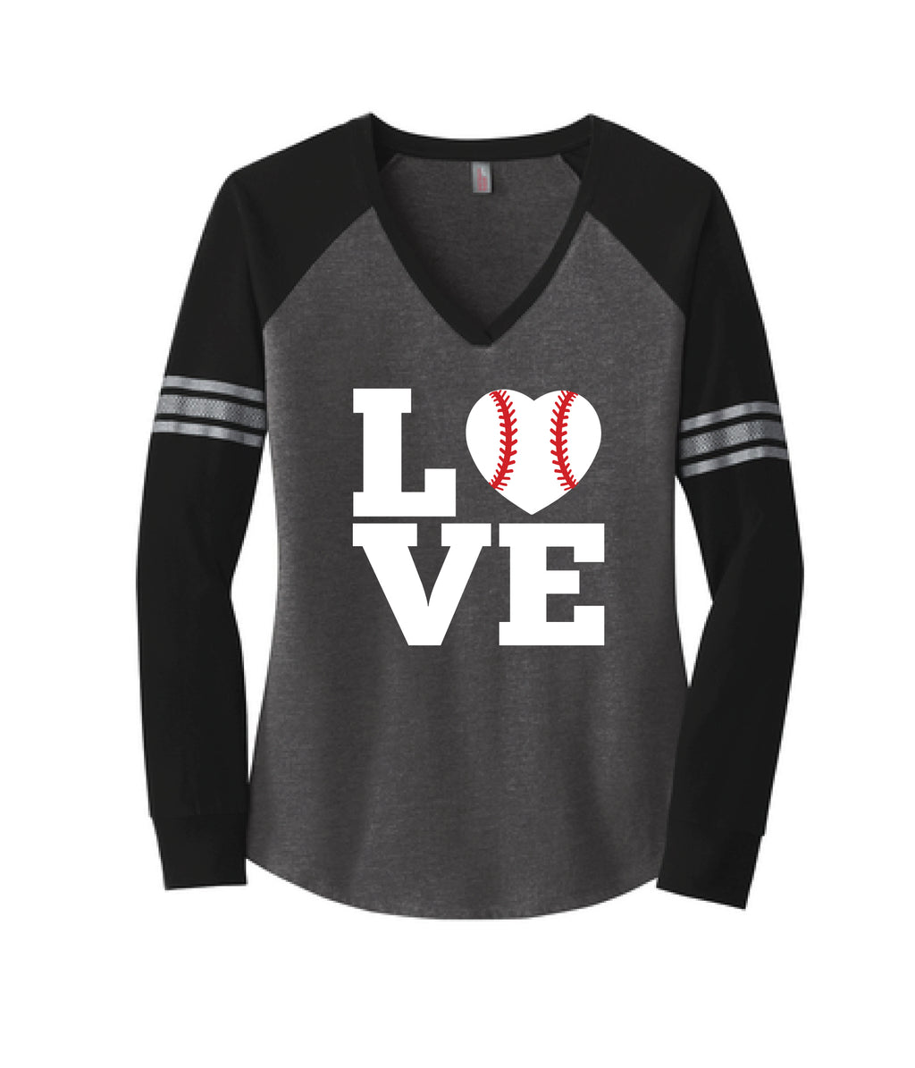 LOVE {Baseball} Long Sleeve