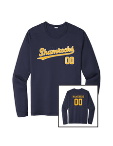 Shamrocks Baseball Sport-Tek® Dry Zone® Long Sleeve Shirt- Youth and Adult Unisex