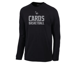 Cards Basketball Sport-Tek® Dry Zone® Long Sleeve Youth Shirt