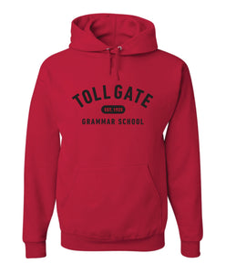 Toll Gate Red Hoodie - Adult Unisex and Youth