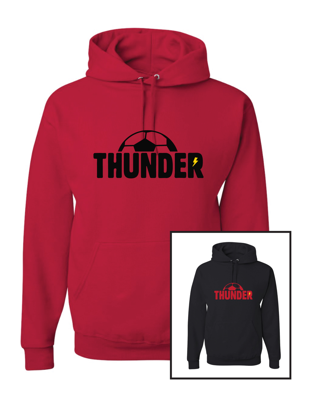Boys Thunder 50/50 Blend Hoodie - Youth