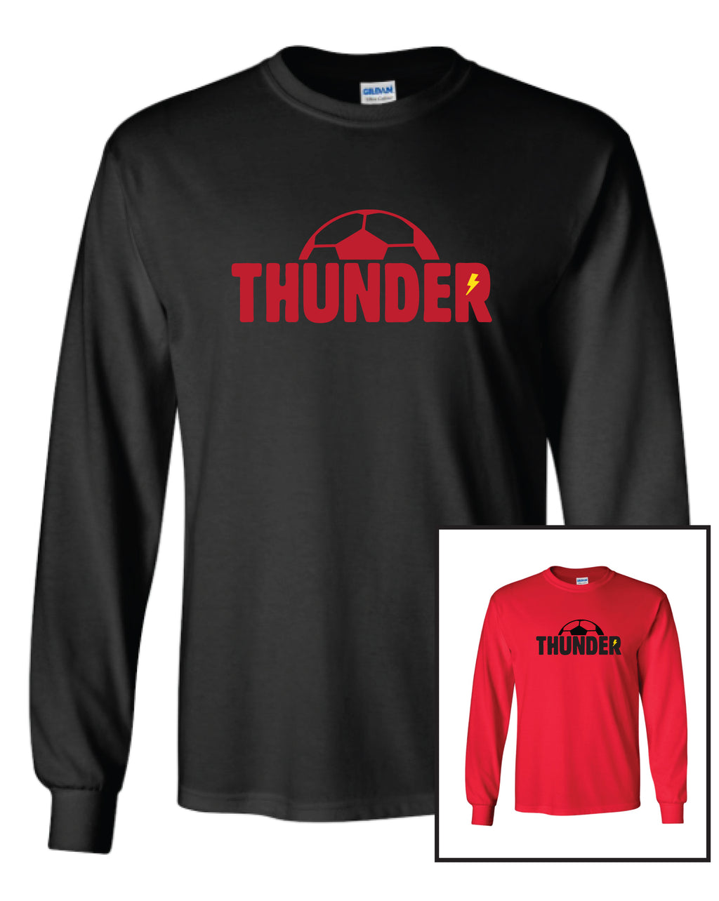Boys Thunder Long Sleeve Cotton T - Youth
