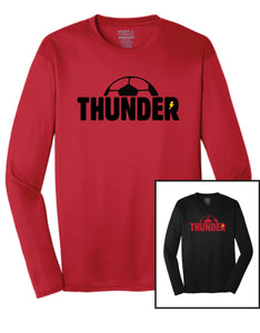 Boys Thunder Long Sleeve Wicking Performance T - Youth