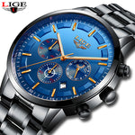 LIGE New Fashion Mens Watches