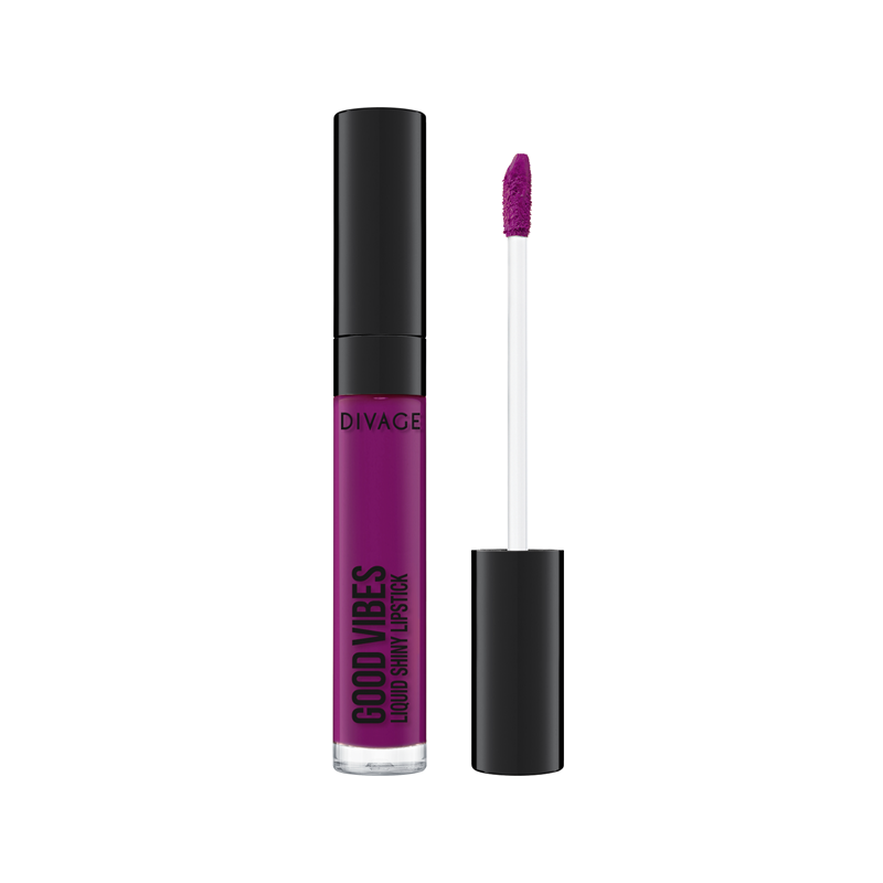 GOOD VIBES LIQUID SHINY LIPSTICK - Divage
