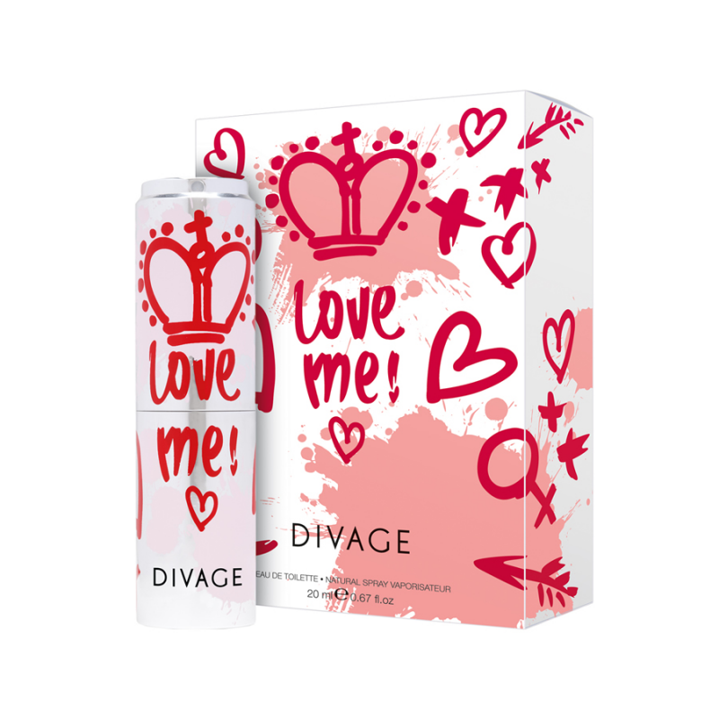 LOVE ME! Eau de Toilette - Divage
