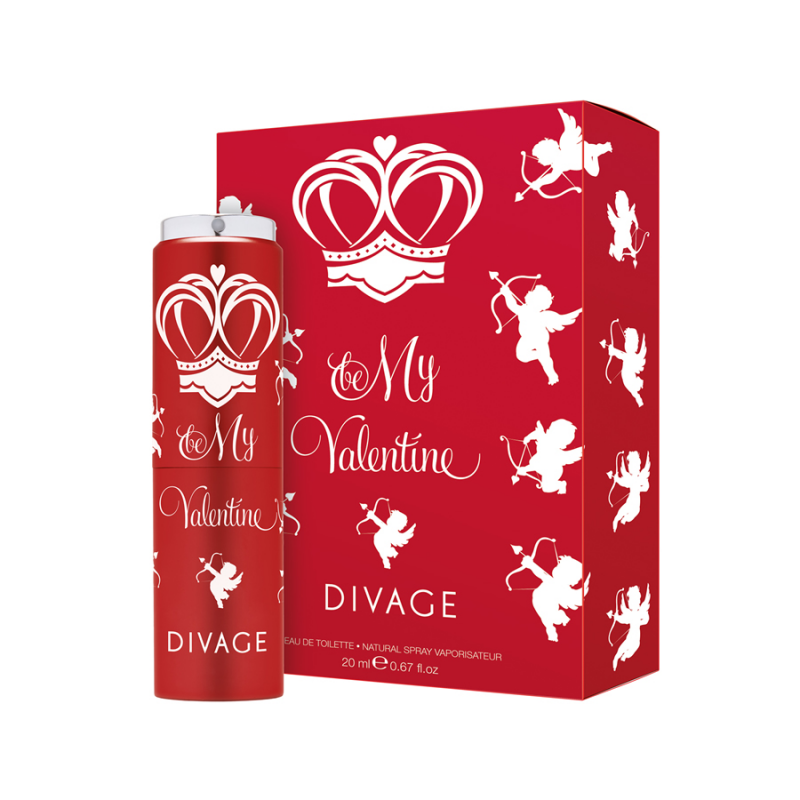 BE MY VALENTINE! Eau de Toilette - Divage
