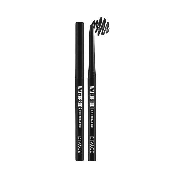 WATERPROOF EYE LINER & KAJAL - Divage Milano