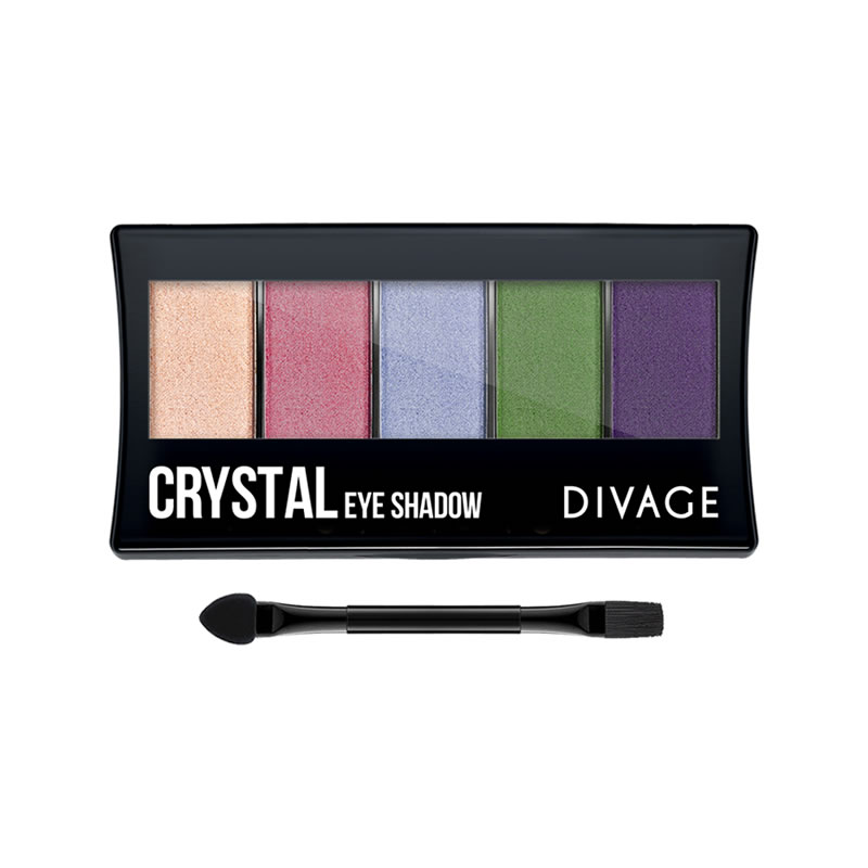 CRYSTAL EYESHADOW PALETTE - Divage