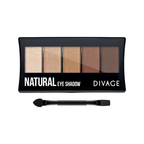 NATURAL EYESHADOW PALETTE - Divage Milano
