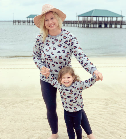 Leopard Print Sweater (mom)