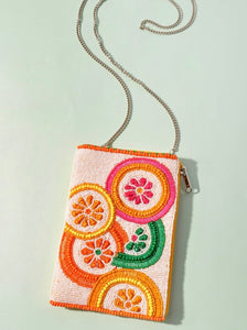 Multi-color Beaded Bag