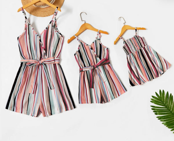 Stripe Romper (Mommy)