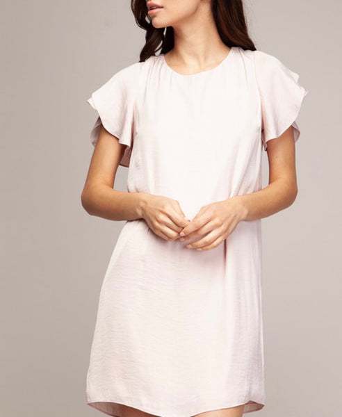 Tulip Sleeve Dress
