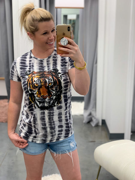 Tiger Grapic Tee