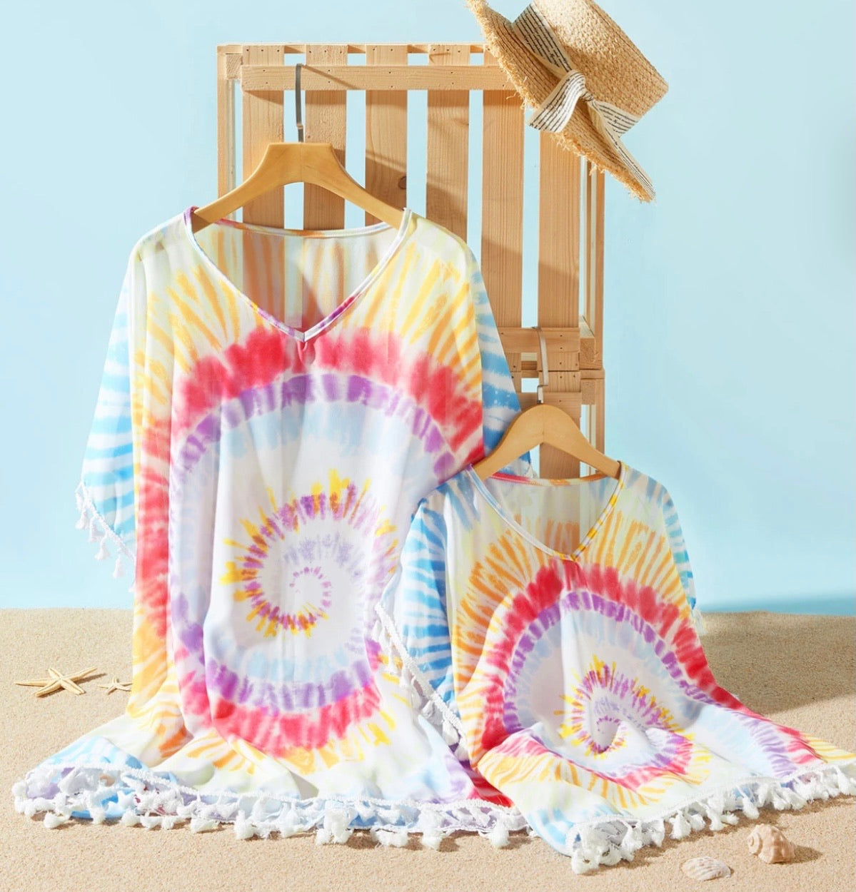Tie Dye Beach Cover Up (Mommy)