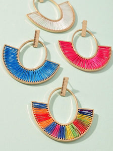 Pop of Color Earrings