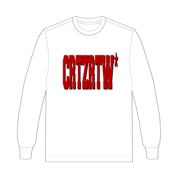 RED CULTFICTION LONGSLEEVE
