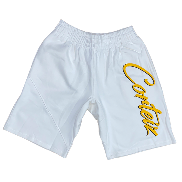SUPERIOR WHITE SWEATSHORTS