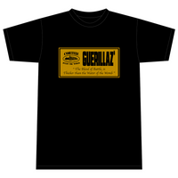 GUERILLAZ* INITIATION BLACK