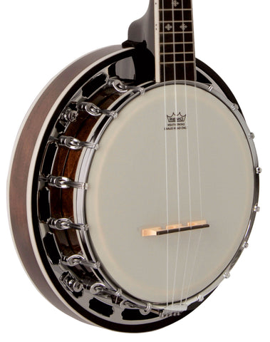 Morgan BJ-UK-5 Banjo-ukulele inkl. kasse