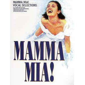 ABBA - Mamma Mia! Sing-Along Vocal Selections Book inkl. CD