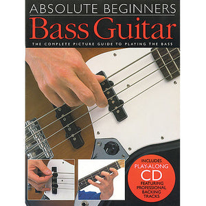 Absolute Beginners Bass Guitar, Bok 1