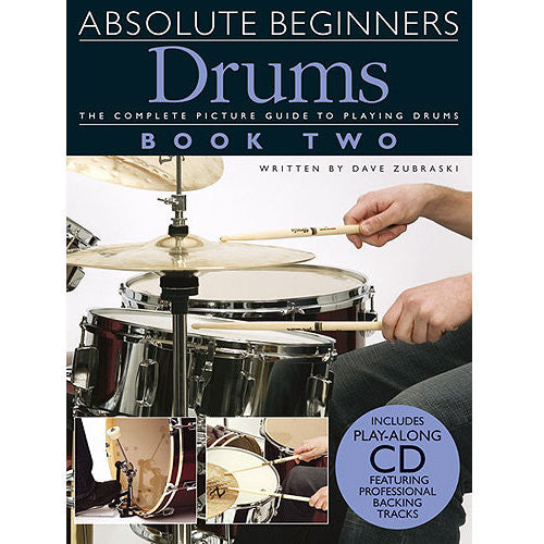Absolute Beginners Drums, Bok 1