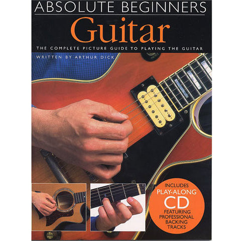 Absolute Beginners Guitar, Bok 1