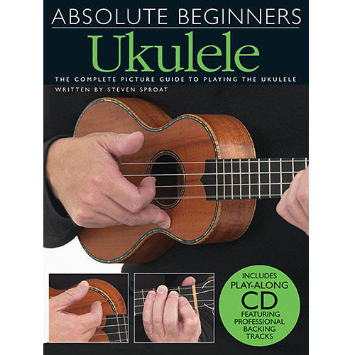 Absolute Beginners Ukulele, Bok 1