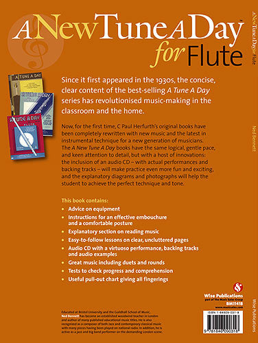 A New Tune A Day: Flute Book 1 (CD Edition)