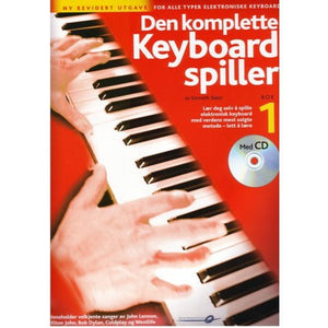 Den komplette keyboardspiller 1 rev. m/CD
