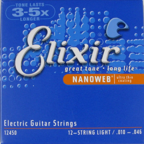 Elixir 12450, 12-strengs, Light, 010-046
