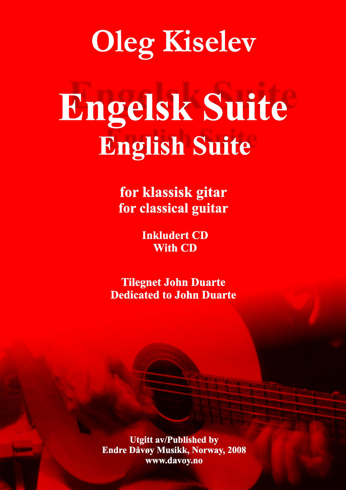 Oleg Kiselev: Engelsk Suite (English Suite)