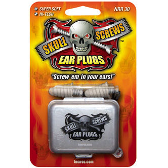 Øreplugger Hearos Skull Screws Ear Plugs 30 dB