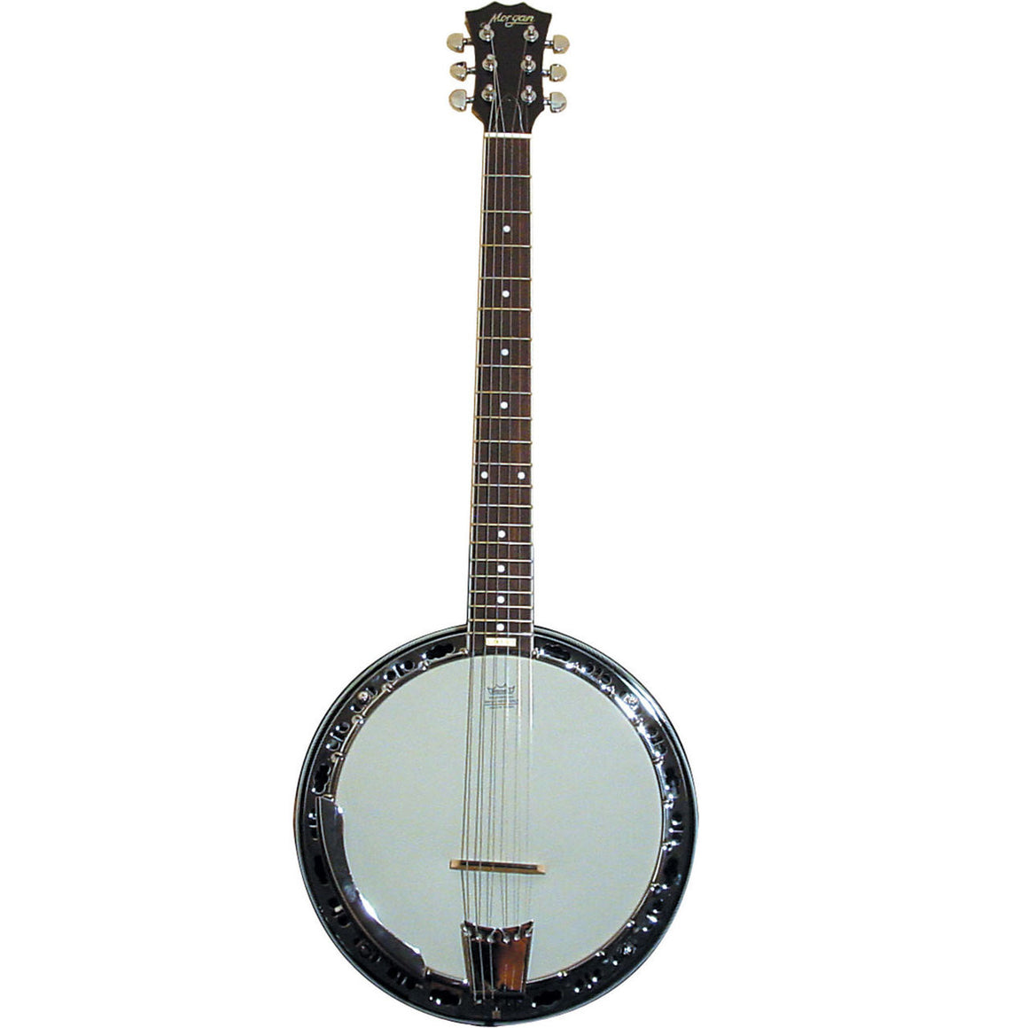 Morgan BJ-36 Banjogitar / 6-strengs banjo, inkl. kasse