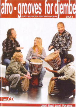 Afro-grooves for djembe