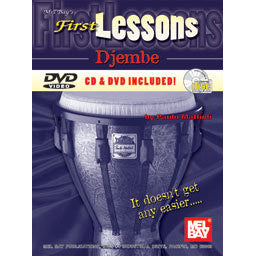 First Lessons Djembe by Paulo Mattioli inkl. CD/DVD