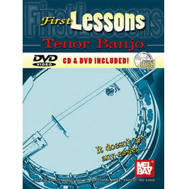 First Lessons Tenor Banjo by Joe Carr inkl. CD/DVD